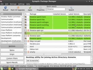 Die Pakete der Version 5 mit ihren Abhängigkeiiten installieren